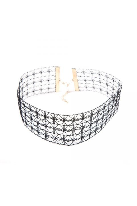 KΟΛΙΕ LACE UP CHOKER