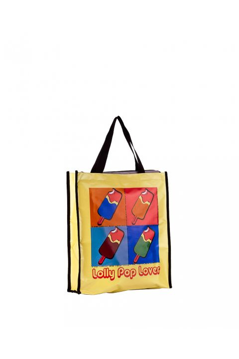 ΤΣΑΝΤΑ SHOPPING LOLLY POP LOVER